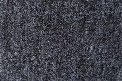 Sluit omhoog van de donkergrijze stof van Jersey Stock Foto's
