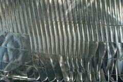 Sluit omhoog van de Geweven Achtergrond van de Autokoplamp Royalty-vrije Stock Afbeelding