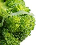 Sluit omhoog van de groene achtergrond van de broccolitextuur Royalty-vrije Stock Foto's