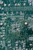 Sluit omhoog van de raad van de computerkring Stock Foto's
