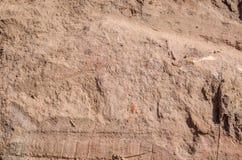 Sluit omhoog van de textuur van de aardegrond Royalty-vrije Stock Afbeelding