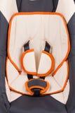 Sluit omhoog van de zetel van de kindauto Royalty-vrije Stock Foto