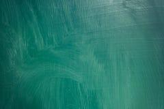 Sluit omhoog van een leeg school groen bord royalty-vrije stock afbeeldingen