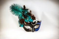 Sluit omhoog van een Mardi Gras-masker Stock Fotografie