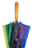Sluit omhoog van een Paraplu Stock Afbeeldingen