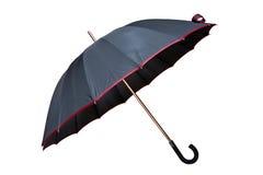 Paraplu die op witte achtergrond wordt geïsoleerdg Royalty-vrije Stock Fotografie