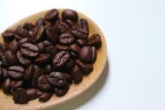 Sluit omhoog van geroosterde koffiebonen Stock Fotografie