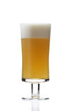 Sluit omhoog van Glas bier Royalty-vrije Stock Afbeeldingen