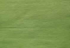 Sluit omhoog van Groene Olive Cotton Textile Texture Royalty-vrije Stock Afbeeldingen
