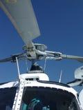 Sluit omhoog van helikopter Stock Foto's