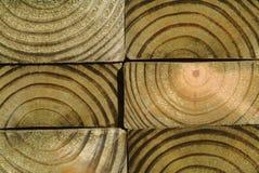 Sluit omhoog van houten korrel Stock Foto's