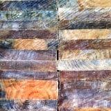 Sluit omhoog van houttexturen op gesneden hout Stock Foto