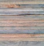 Sluit omhoog van houttexturen op gestapeld hout Stock Fotografie