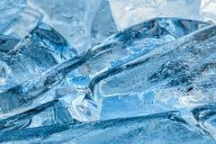 Sluit omhoog van ijs Royalty-vrije Stock Afbeelding