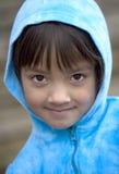 Sluit omhoog van jong meisje. royalty-vrije stock afbeeldingen