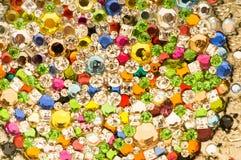 Sluit omhoog van kleurrijke achtergrond stock afbeeldingen