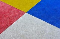 Sluit omhoog van kleurrijke rechthoekenachtergrond Stock Fotografie