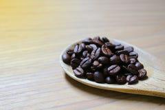 Sluit omhoog van koffiebonen Royalty-vrije Stock Fotografie