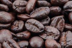Sluit omhoog van koffiebonen Royalty-vrije Stock Foto
