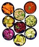 Salades Royalty-vrije Stock Foto