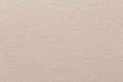 Sluit omhoog van lichte beige document textuur Stock Fotografie