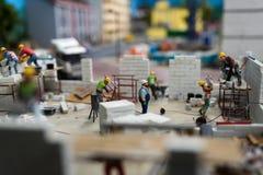 Sluit omhoog van Miniatuurwereld Royalty-vrije Stock Foto