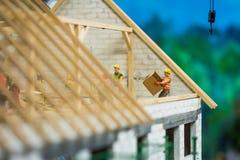 Sluit omhoog van Miniatuurwereld Stock Foto