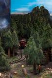 Sluit omhoog van Miniatuurwereld Royalty-vrije Stock Fotografie