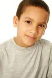 Sluit omhoog van multi-etnische jongen Royalty-vrije Stock Foto