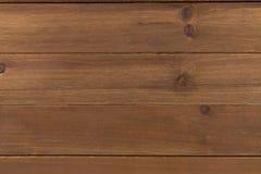 Sluit omhoog van muur van houten planken wordt gemaakt die Royalty-vrije Stock Foto