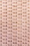 Sluit omhoog van Plastic stoelmandewerk Royalty-vrije Stock Foto