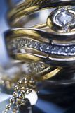 Sluit omhoog van ring Stock Afbeeldingen
