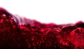 Sluit omhoog van rode wijn Royalty-vrije Stock Foto