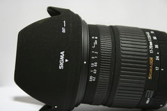 Sluit omhoog van Sigmadslr lens Royalty-vrije Stock Afbeelding