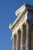 Sluit omhoog van Tempel van Athena Nike Royalty-vrije Stock Foto