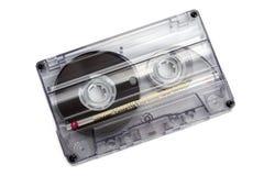 Sluit omhoog van uitstekende audiobandcassette Royalty-vrije Stock Afbeeldingen