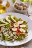 Sluit omhoog van verse salade Stock Fotografie