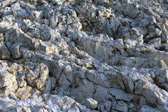 Sluit omhoog van wilde rotsen stock fotografie
