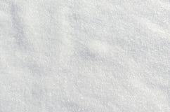 Sluit omhoog van witte sneeuw Stock Afbeelding