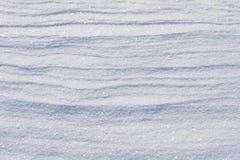 Sluit omhoog van witte sneeuw Stock Foto's