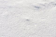 Sluit omhoog van witte sneeuw Royalty-vrije Stock Foto's