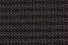 Sluit omhoog van zwarte donkere document achtergrond of textuur Royalty-vrije Stock Fotografie