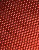 Sluit omhoog van zwarte netto. Rood licht. Stock Afbeelding