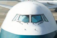 Sluit omhoog Vliegtuig royalty-vrije stock foto's