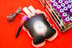 Sluit omhoog zak van bloed en plasma en rubberbuis royalty-vrije stock foto's