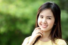 Sluit protrait omhoog het meisje van Yong Royalty-vrije Stock Foto