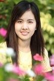 Sluit protrait omhoog het meisje van Yong Stock Foto's