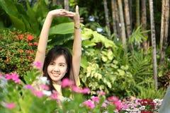 Sluit protrait omhoog het meisje van Yong Royalty-vrije Stock Fotografie
