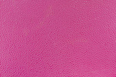 Sluit textuur van het achtergrond omhoog de realistische roze hoge quilityleer Stock Afbeeldingen