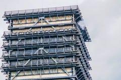 Sluit van doven omhoog toren van een cokery Stock Fotografie